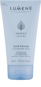 Lumene Cleansing Herkkä [Calm] pomirjajoče čistilno mleko za občutljivo kožo